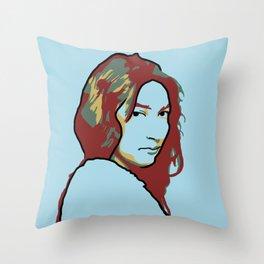 Zitkala-Sa Throw Pillow