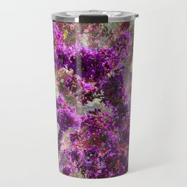 BLOOMING CRAB APPLE FANTASY ABSTRACT Travel Mug