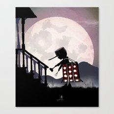 Dalek Kid Canvas Print