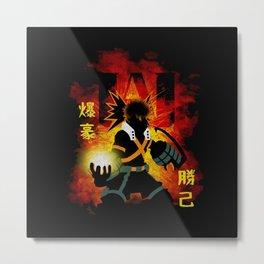 bakugo Metal Print