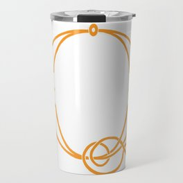 Celtic Knot Initial Q Travel Mug