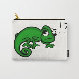 humans are weird (chameleon) Carry-All Pouch