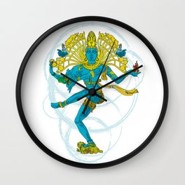 01 - SHIVA Wall Clock