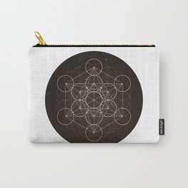 Metatrons Cube Is Out Of Space Carry-All Pouch