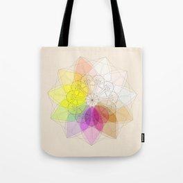Soft Fibonacci 2 Tote Bag