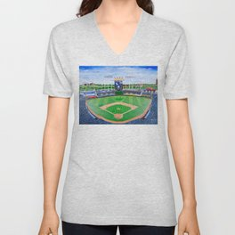 An Amazing Game at the K Unisex V-Neck