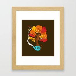 Tea Leaves Framed Art Print