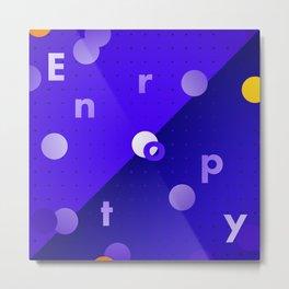 Entropy Metal Print