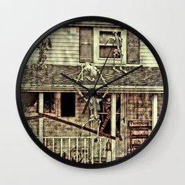 Don't Open The Window! Wall Clock