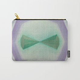 """Unnamed Series No. 8 """"Light Blue"""" Carry-All Pouch"""