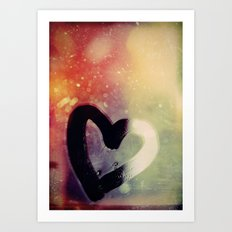 The Reflection of Love Art Print
