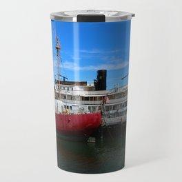 Riverboat Legacy and Fireship Columbia on Columbia River Travel Mug