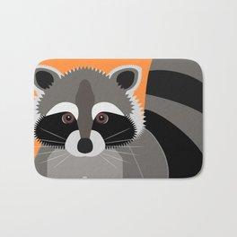 Raccoon Mischief Bath Mat