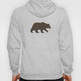 Grizzly Bear Sihouette Hoody