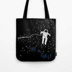 lost in space astronaut Tote Bag