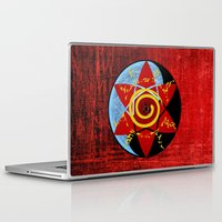 naruto Laptop & iPad Skins featuring Naruto seal by tanduksapi