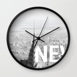 Never Sleeps Wall Clock