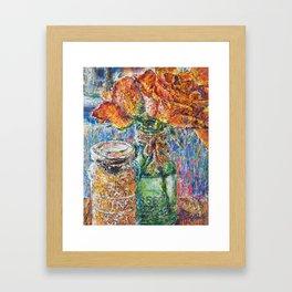 Sugar Chutney Framed Art Print