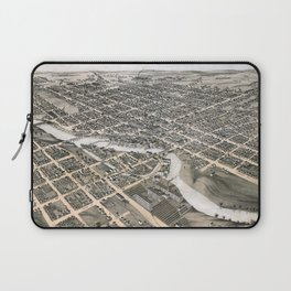South Bend - Indiana - 1874 Laptop Sleeve