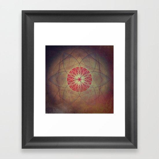 flyrym okkuly Framed Art Print