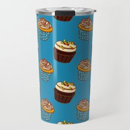 Pattern-cupcakes,-sweets,-food,-dessert,-dragee Travel Mug