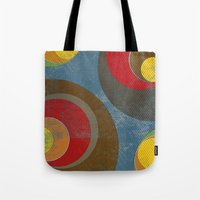 it crowd Tote Bags featuring Crowd by Metron