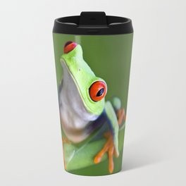 Red-eyed Tree Frog Travel Mug