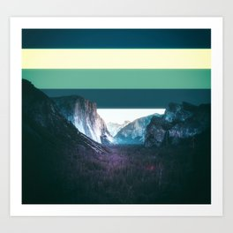 Colorscape III Art Print