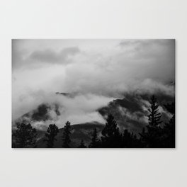 Darkness Unfolds Canvas Print