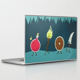 Let's All Go On an Adventure Laptop & iPad Skin