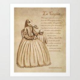 La Cegua Art Print
