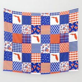 Florida University gators swamp life varsity team spirit college football quilted pattern gifts Wall Tapestry