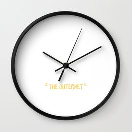 The Outernet Explorer Wall Clock