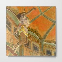 """Edgar Degas """"Miss La La at the Cirque Fernando"""" Metal Print"""