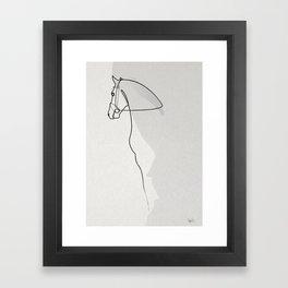 OnelineHorse 2803 Framed Art Print