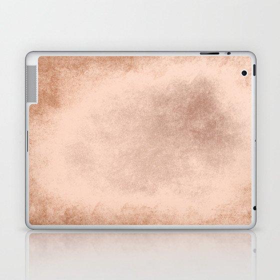Brown grunge texture Laptop & iPad Skin
