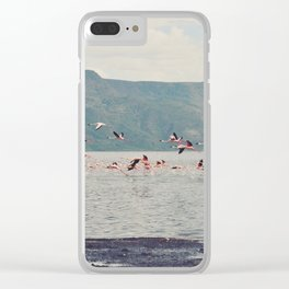 Vintage Africa 22 Clear iPhone Case