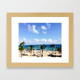 FT, Lauderdale Framed Art Print