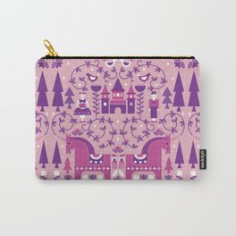 Fairy Tale Illustration in Scandinavian Style Carry-All Pouch