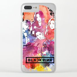 blackpink 1\2 Clear iPhone Case