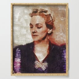 Katherine Anne Porter, Author Serving Tray