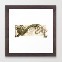 Ryu Framed Art Print