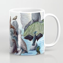 California Coastal Animals Coffee Mug