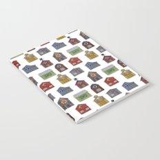 Barn Quilt Illustration Notebook