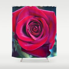 MAGIC ROSE Shower Curtain