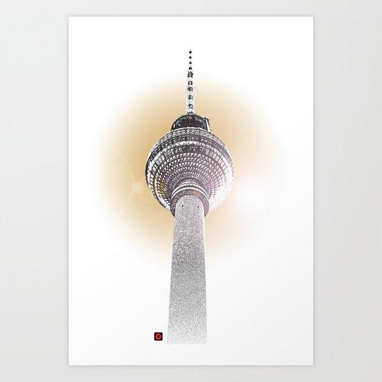 Berlin Love Art Print