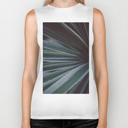 Soothing Succulent Biker Tank