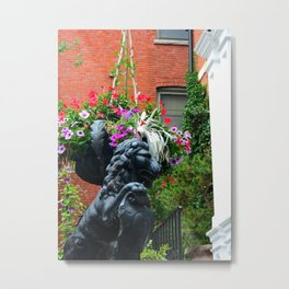 Salem Stoop Metal Print