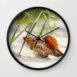 mussel Wellness Wall Clock