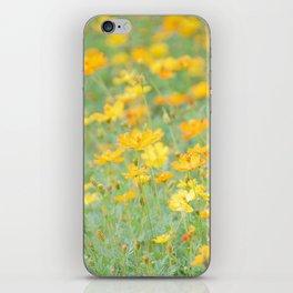 Small yellow flower iPhone Skin